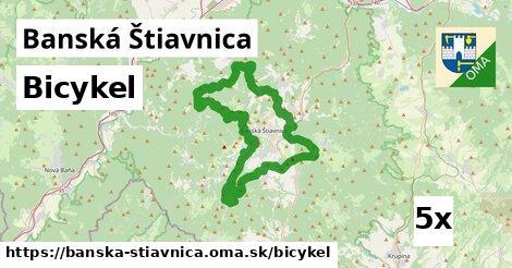 bicykel v Banská Štiavnica