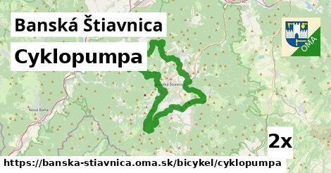 cyklopumpa v Banská Štiavnica