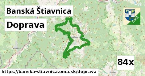 doprava v Banská Štiavnica