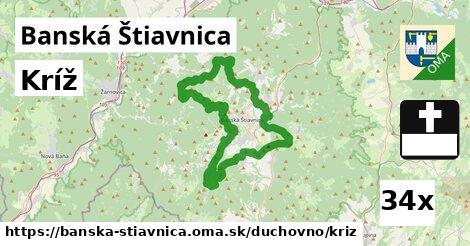 kríž v Banská Štiavnica