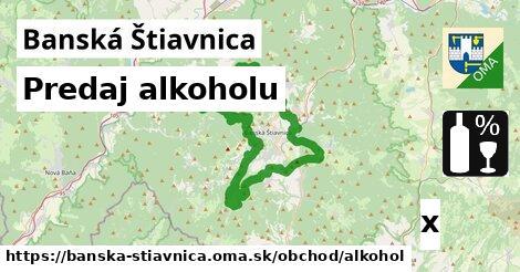 predaj alkoholu v Banská Štiavnica
