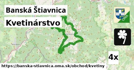 kvetinárstvo v Banská Štiavnica