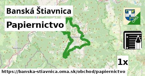 papiernictvo v Banská Štiavnica
