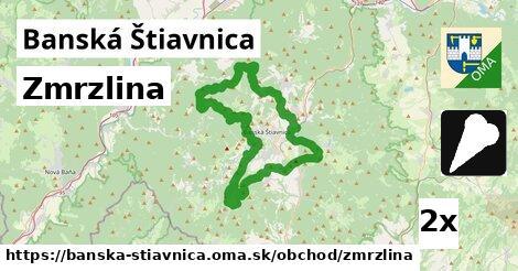 zmrzlina v Banská Štiavnica