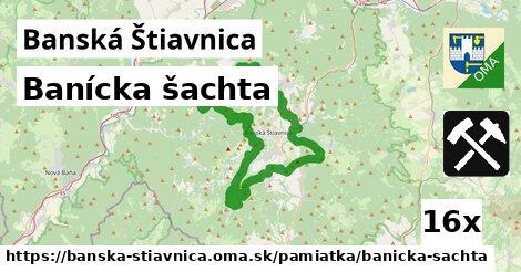 banícka šachta v Banská Štiavnica