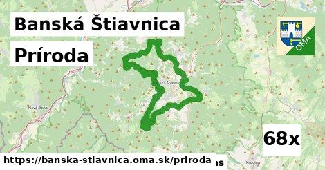 príroda v Banská Štiavnica