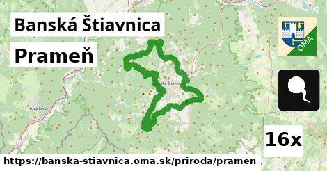 prameň v Banská Štiavnica