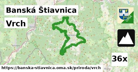 vrch v Banská Štiavnica
