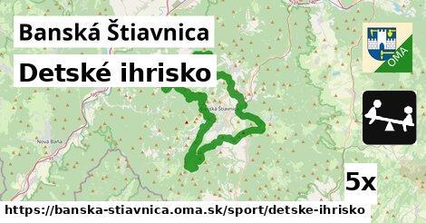 detské ihrisko v Banská Štiavnica