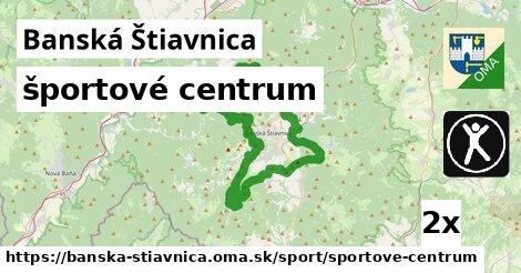 športové centrum v Banská Štiavnica
