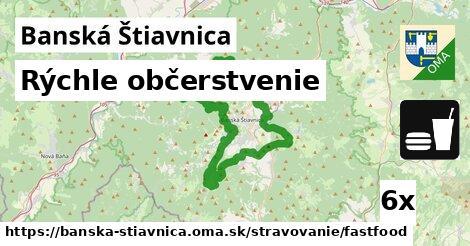 rýchle občerstvenie v Banská Štiavnica
