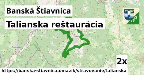 talianska reštaurácia v Banská Štiavnica