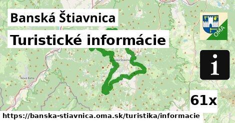 turistické informácie v Banská Štiavnica