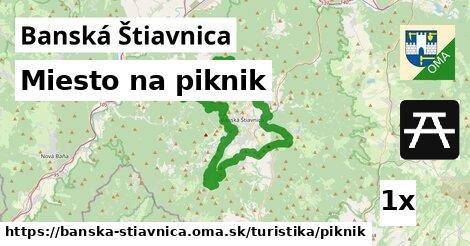 miesto na piknik v Banská Štiavnica