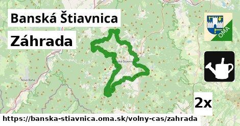 záhrada v Banská Štiavnica
