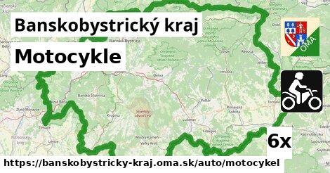 motocykle v Banskobystrický kraj