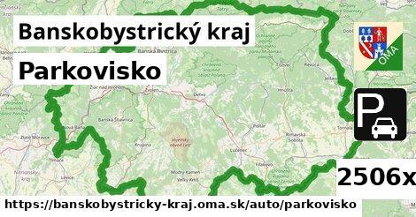 parkovisko v Banskobystrický kraj