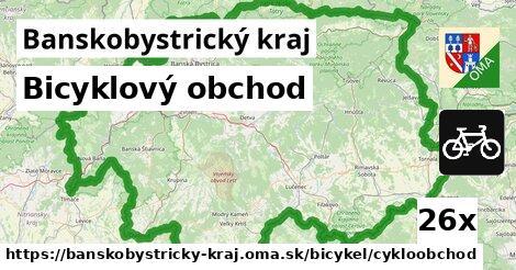 ilustračný obrázok k Bicyklový obchod, Banskobystrický kraj