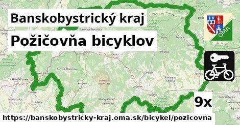 ilustračný obrázok k Požičovňa bicyklov, Banskobystrický kraj