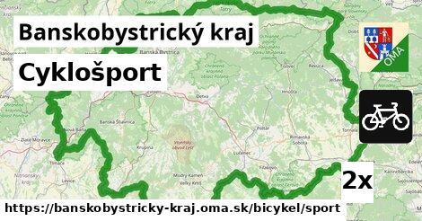 ilustračný obrázok k Cyklošport, Banskobystrický kraj