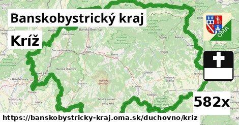 ilustračný obrázok k Kríž, Banskobystrický kraj