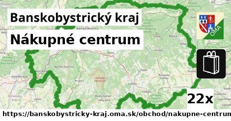 ilustračný obrázok k Nákupné centrum, Banskobystrický kraj