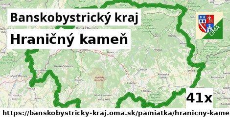 ilustračný obrázok k Hraničný kameň, Banskobystrický kraj