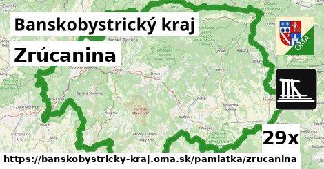 ilustračný obrázok k Zrúcanina, Banskobystrický kraj