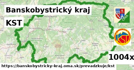 KST, Banskobystrický kraj
