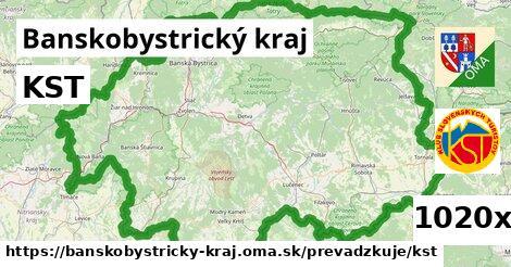 KST v Banskobystrický kraj