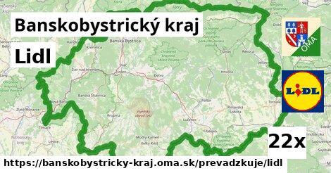 ilustračný obrázok k Lidl, Banskobystrický kraj