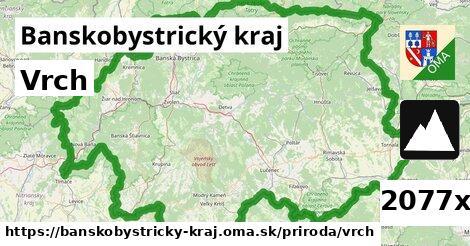 ilustračný obrázok k Vrch, Banskobystrický kraj
