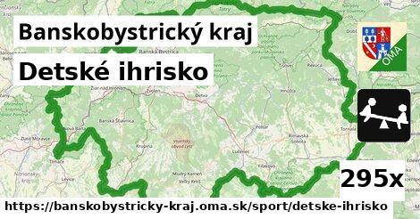 ilustračný obrázok k Detské ihrisko, Banskobystrický kraj