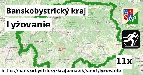 lyžovanie v Banskobystrický kraj