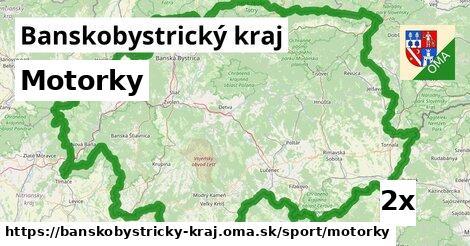 motorky v Banskobystrický kraj