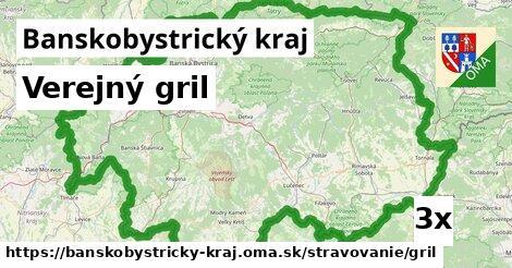 ilustračný obrázok k Verejný gril, Banskobystrický kraj
