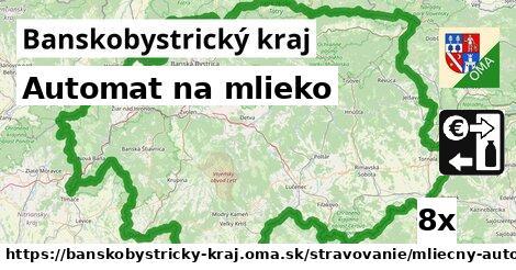ilustračný obrázok k Automat na mlieko, Banskobystrický kraj