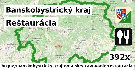 ilustračný obrázok k Reštaurácia, Banskobystrický kraj