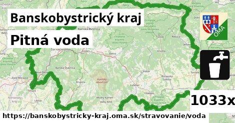 ilustračný obrázok k Pitná voda, Banskobystrický kraj