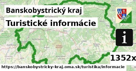 ilustračný obrázok k Turistické informácie, Banskobystrický kraj