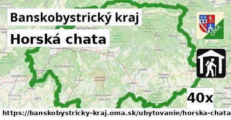 ilustračný obrázok k Horská chata, Banskobystrický kraj