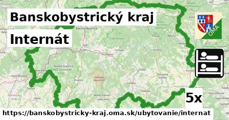 ilustračný obrázok k Internát, Banskobystrický kraj