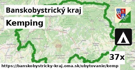 kemping v Banskobystrický kraj