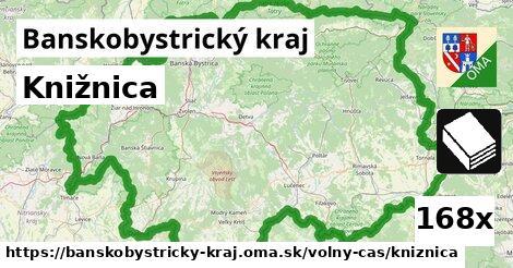 ilustračný obrázok k Knižnica, Banskobystrický kraj