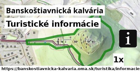 turistické informácie v Banskoštiavnická kalvária