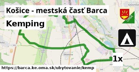 kemping v Košice - mestská časť Barca