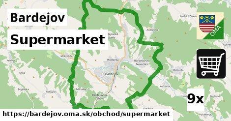 supermarket v Bardejov