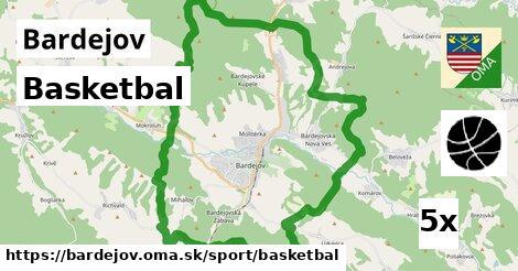 basketbal v Bardejov