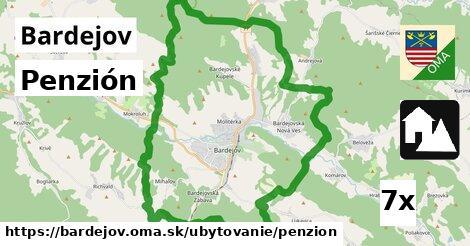 penzión v Bardejov