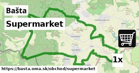 supermarket v Bašta